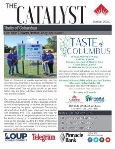 Columbus Area Chamber Catalyst - October 2021